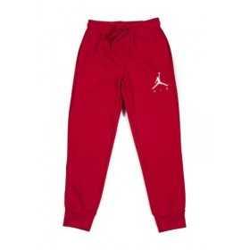 955215-R78_Pantalon de Jogging pour enfant Jordan Fleece Terry Rouge
