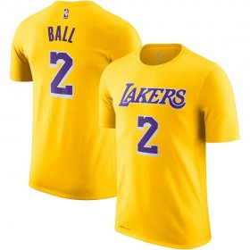 EK2B7TD99B01LB_T-shirt NBA Lonzo Ball Los Angeles Lakers pour enfant