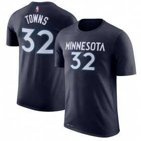 EK2B7TD99BKAT_T-shirt NBA Karl-Antony Towns Minnesota Timberwolves Bleu marine pour enfant