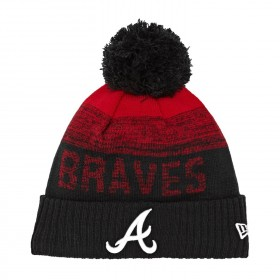 11796968_Bonnet MLB Atlanta Braves à pompon New Era Sport Knit 2 Noir