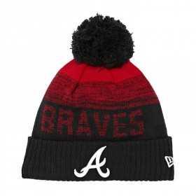 Gorro New Era Sport Knit 2 MLB Atlanta Braves negro