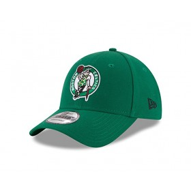 Kids' New Era The League NBA Boston Celtics hat green