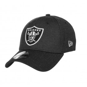 11794771_Casquette NFL Oakland Raiders New Era Heather Essential 39thirty Noir