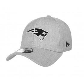 11794772_Casquette NFL New England Patriots New Era Heather Essential 39thirty Gris