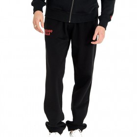 11788884_Pantalon NBA Chicago Bulls New Era Team Apparel Track Noir pour Homme