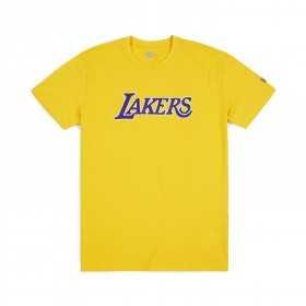 11788886_T-Shirt NBA Los Angeles Lakers New Era Team Apparel Jaune pour Homme