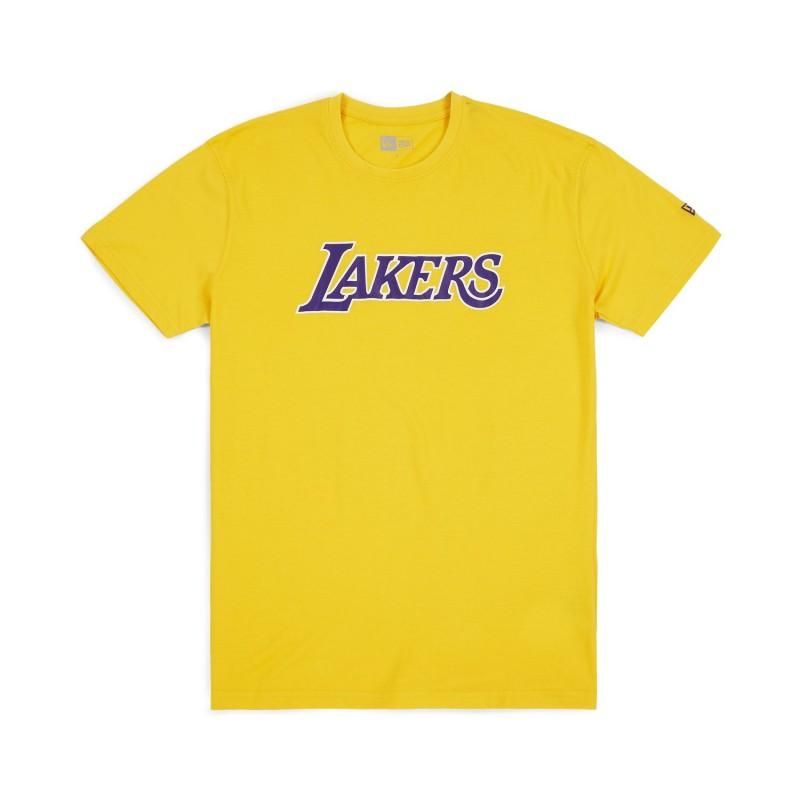 199f84c666a16 11788886_T-Shirt NBA Los Angeles Lakers New Era Team Apparel Jaune pour  Homme