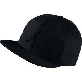 "861452-010_Casquette Jordan Jumpman Snapback Noir ""all black"""