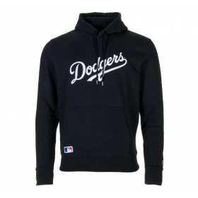 Men's New Era Team Apparel Hoody MLB Los Angeles Dodgers black