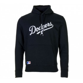 11788908_Sweat à capuche MLB Los Angeles Dodgers New Era Team Apparel Hoody Noir pour homme