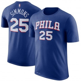 EK2B7TD99BBS_T-shirt NBA Ben Simmons Philadelphia 76ers bleu pour enfant