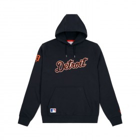 11788910_Sweat à capuche MLB Detroit Tigers New Era Team Apparel Hoody Noir pour homme