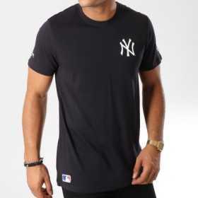 11788914_T-Shirt MLB New York Yankees New Era Team Apparel Emblem Noir pour Homme