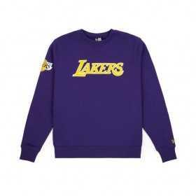 11788918_Sweat NBA Los Angeles Lakers New Era Team Apparel Crew Violet pour Homme