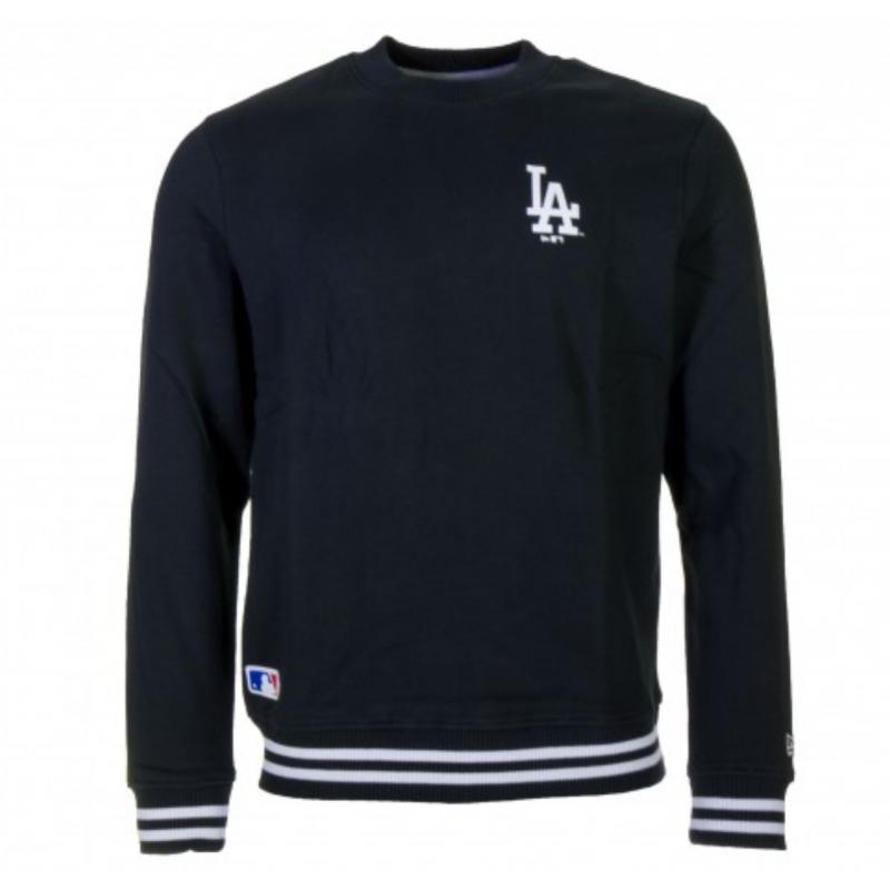 11788919_Sweat MLB Los Angeles Dodgers New Era Team Apparel Crew Noir pour homme