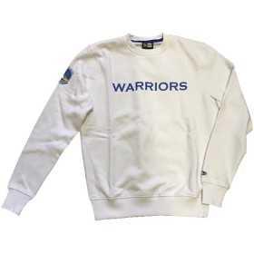 11788920_Sweat NBA Golden State Warriors New Era Team Apparel Crew blanc pour Homme