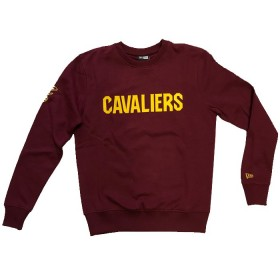 11788922_Sweat NBA Cleveland Cavaliers New Era Team Apparel Crew Rouge pour Homme