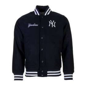 11788927_Bomber MLB New York Yankees New Era Team Apparel Bleu marine