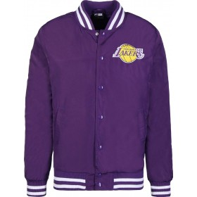 11788928_Bomber NBA Los Angeles Lakers New Era Team Apparel Violet pour Homme