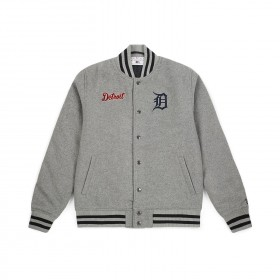 11788931_Bomber MLB Detroit Tigers New Era Team Apparel Gris