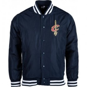 11788932_Bomber NBA Cleveland Cavaliers New Era Team Apparel Bleu marine pour Homme