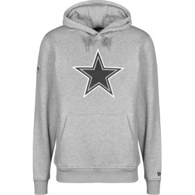 11788953_Sweat à Capuche NFL Dallas Cowboys New Era Fan Pack Hoody Gris pour Homme