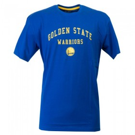 11788970_T-Shirt NBA Golden State Warriors New Era Classic Arch Bleu pour Homme