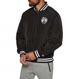 New Era Team Apparel Jacket NBA Boston Celtics negro para hombre