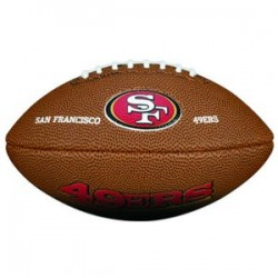 Wilson NFL team logo mini 49ers