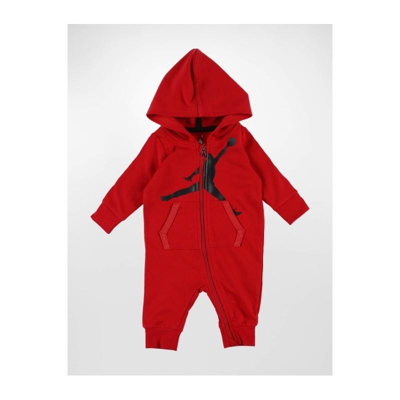 555399-R78_Combinaison veste et short pour bébé Jordan Coverall Rouge