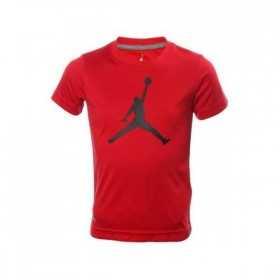 8U4293-R78_T-shirt Jordan Big Logo Rouge BLK Pour Enfant