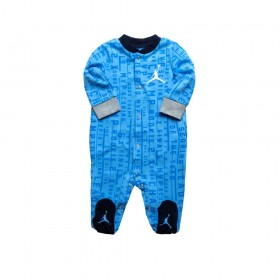 555347-B9F_Grenouillère Jordan Coverall Footed Bleu pour bébé