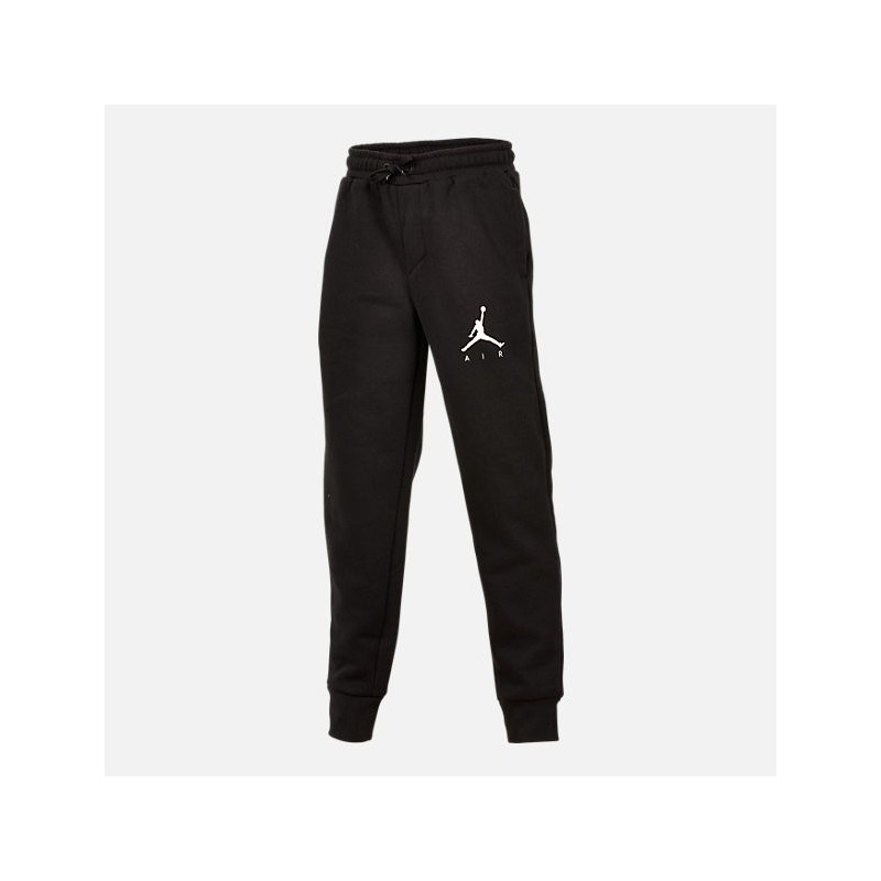 955215-023_Pantalon de Jogging pour enfant Jordan Fleece Terry Noir