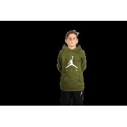 Sweat à capuche pour enfant Jordan Jumpman Fleece Vert