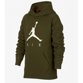 Sweat à capuche pour enfant Jordan Jumpman Fleece Vert