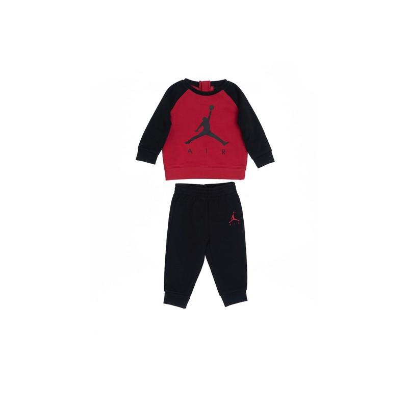 655660-023_Sweat et pantalon pour bébé Jordan fleece Terry Noir