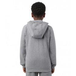 Sweat à capuche Zippé pour enfant Jordan Jumpman Fleece Gris