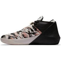"""Chaussure de Basket Jordan Why not zer0.1 Noir """"phantom"""" Low pour homme"""