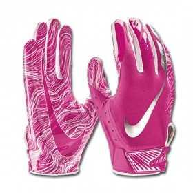 84156rose_Gant de football américain Nike vapor Jet 5.0  pour receveur Rose