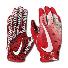 N.FG.01-919_Gant de football américain Nike vapor Knit 2.0 pour receveur Rouge