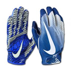 N.FG.01-983_Gant de football américain Nike vapor Knit 2.0 pour receveur Bleu