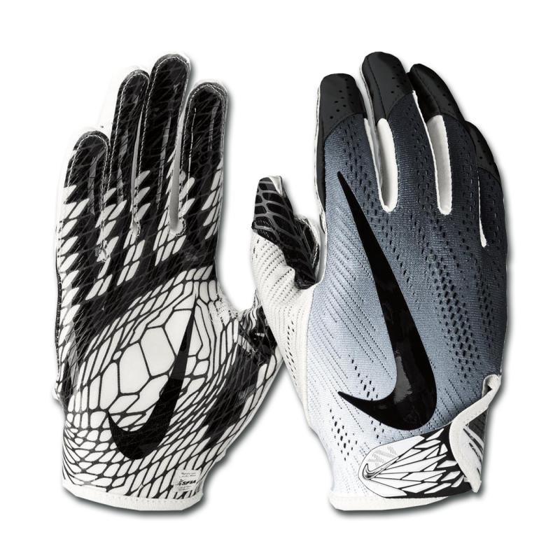 Gant de football américain Nike vapor Knit 2.0 pour receveur Blanc BLK