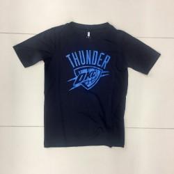 T-shirt NBA Oklahoma City Thunders Defensive dry tek pour enfant Bleu
