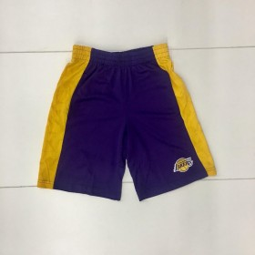 EK2B7BAQJ-LAK_Short NBA Los Angeles Lakers Shooter Jaune pour enfant