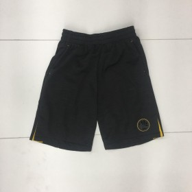 EK2B7BAPE-WAR_Short NBA Golden State Warriors Squadron Shooter Noir pour enfant