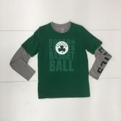 EK2B7BAPP3-CEL_Pack de 2 T-shirt NBA Boston Celtics Combo pack Gris pour enfant