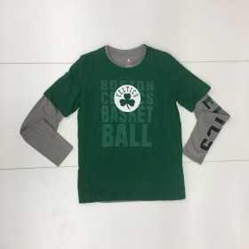EK2B7BAPP3-CEL_Pack de 2 T-shirt NBA Boston Celtics Combo pack Gris pour enfant