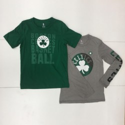 Pack de 2 T-shirt NBA Boston Celtics Combo pack Gris pour enfant