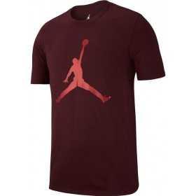 AA1905-652_T-shirt Jordan Iconic Jumpman Rouge bordeaux pour homme