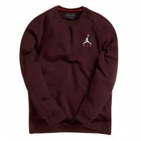 940170-652_Sweat Jordan Sportswear Jumpman Fleece Rouge bordeaux pour homme